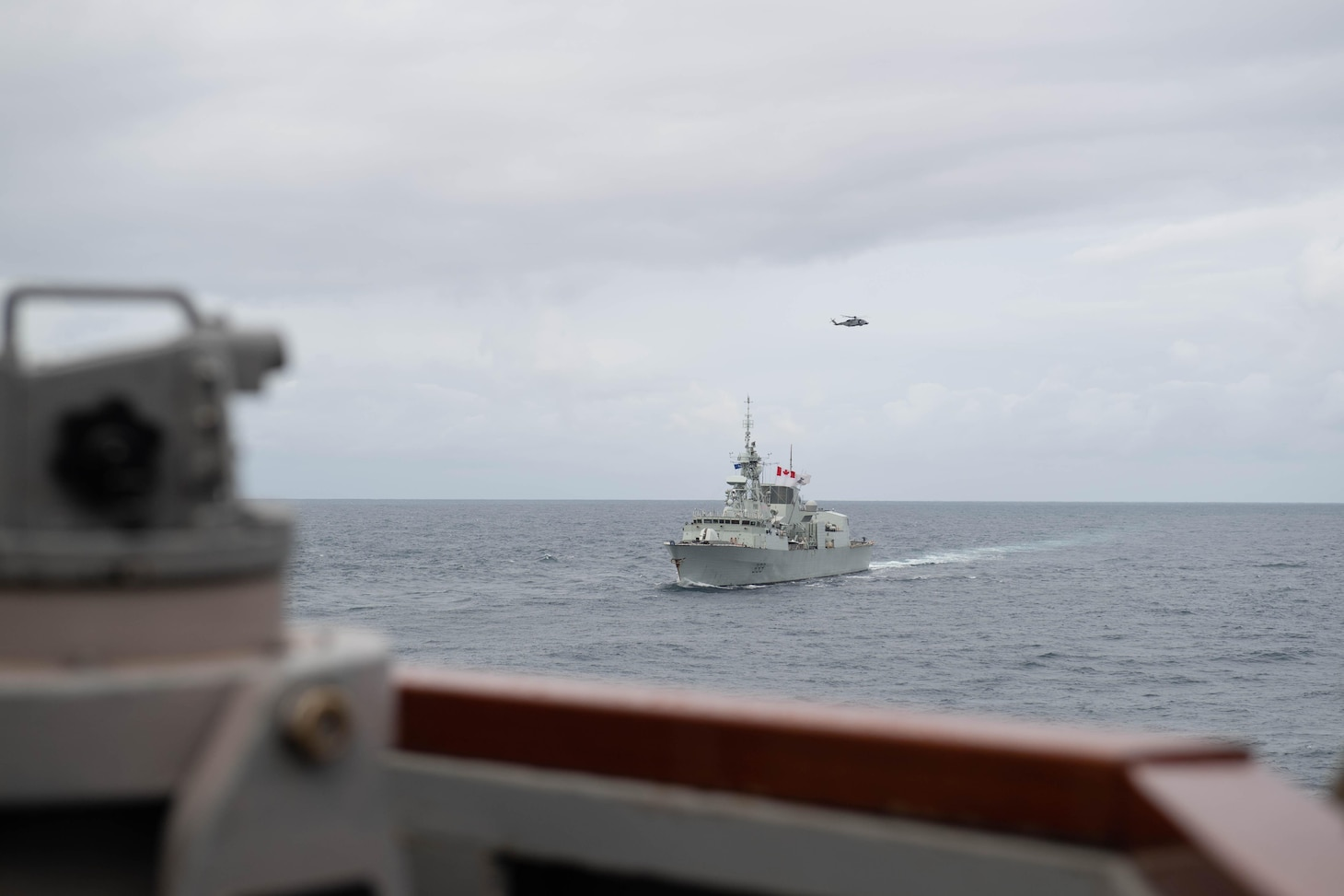 USS Ross Completes NATO Exercise