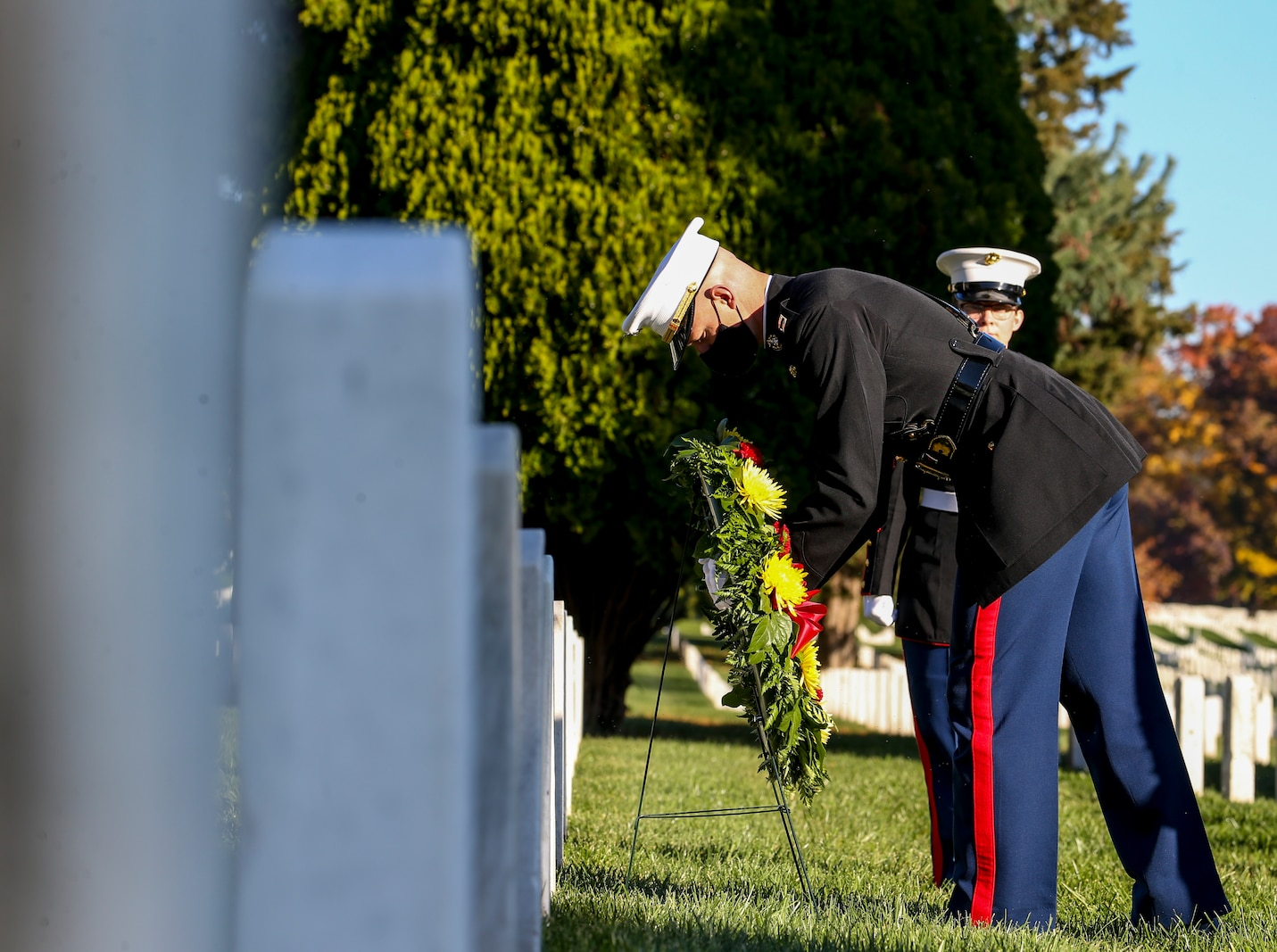 These ceremonies are held to celebrate those Marines' love and devotion to their Corps and Country, and to celebrate the Marine Corps birthday