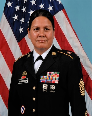 Alabama National Guard, Command Sergeant Major Maria L Rasmussen's official U.S. Army Bio and photo.