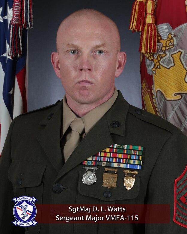 Sergeant Major David L. Watts