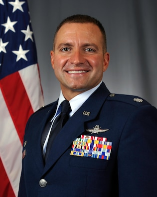 Lt. Col. Christopher Wiley, 86 Communications Squadron commander