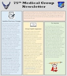 75th Medical Group Newsletter