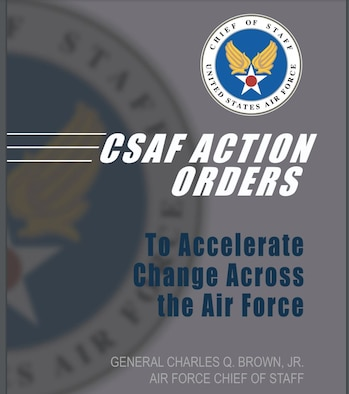 Cover of CSAF action orders