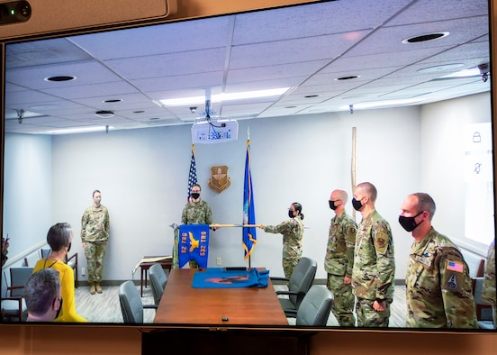 A virtual transition ceremony officially transferred the 532nd Training Squadron at Vandenberg AFB, California, to the 82nd Training Group here on Dec. 7, 2020, marking the final stage of a process that began months ago.