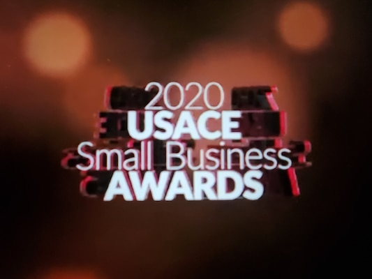 The U.S. Army Engineer Research and Development Center's Office of Small Business Programs was recognized by the U.S. Army Corps of Engineers during a virtual ceremony for the 2020 USACE Small Business Awards, Dec. 4, 2020.