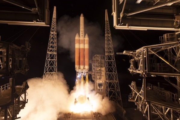 NRO launches from new Space Force Station