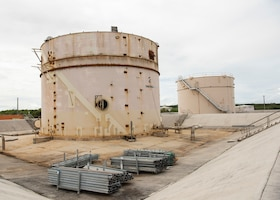 Fuel tanks for construction