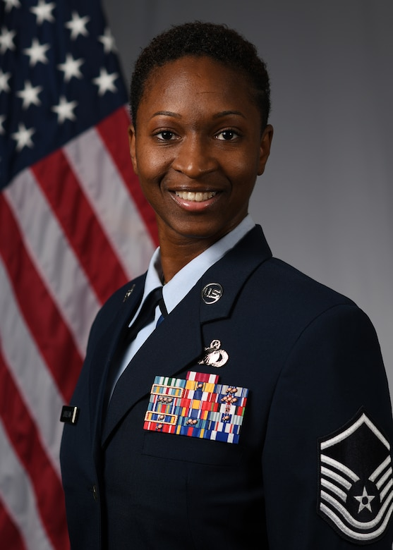 Woman wearing uniform.