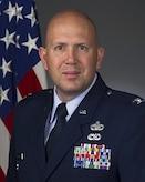 Col Michael Tiemann in his dress blues uniform.