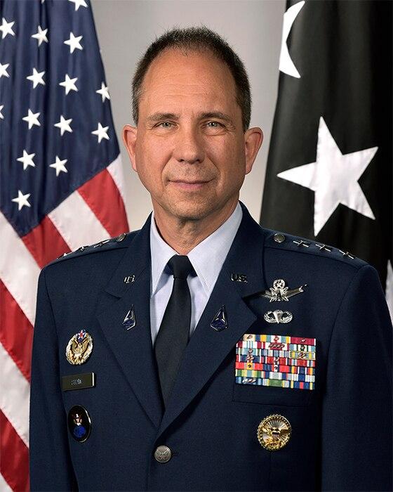 This is the official portrait of Lt. Gen. John E. Shaw.