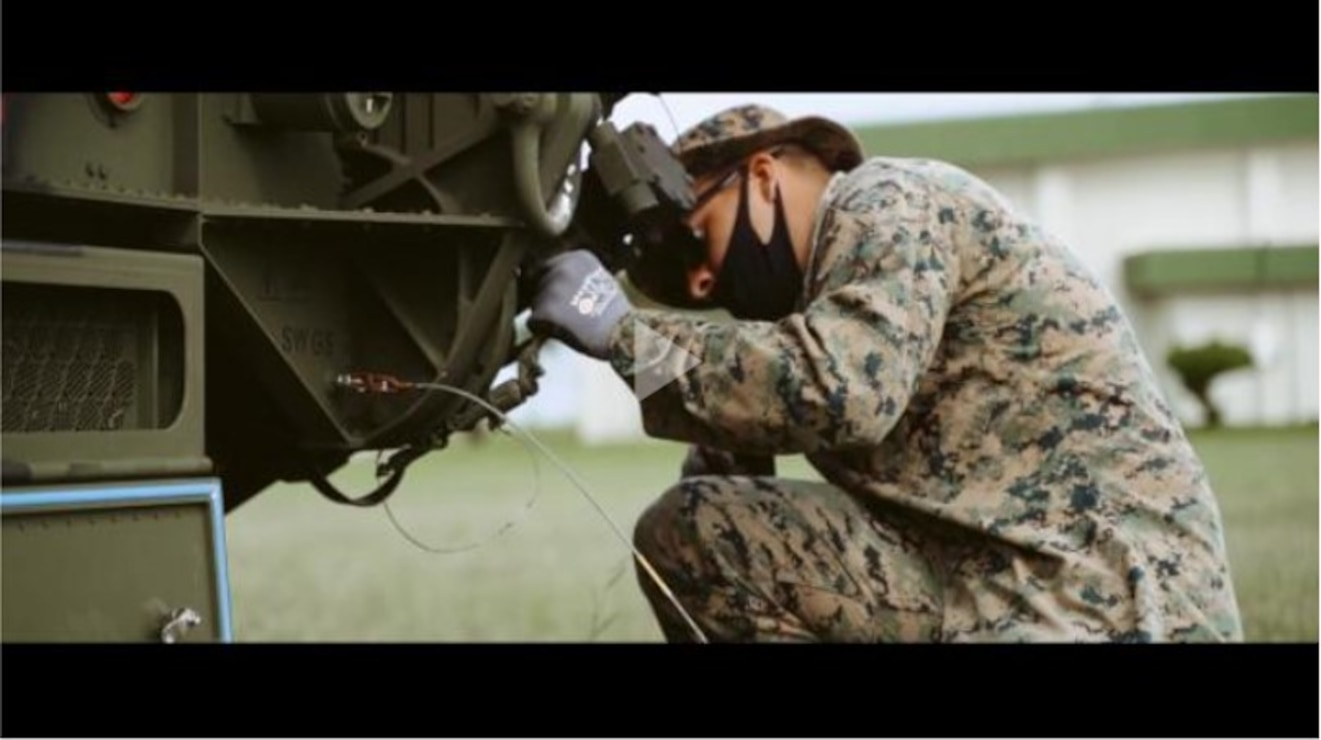 Marines with 12th Marine Regiment, 3d Marine Division, set up a Ground and Air Task Oriented Radar system at Marine Corps Air Station Futenma, Okinawa, Japan, Aug. 10, 2020. The G/ATOR allows Marines to see further distances and is used to locate enemy weapon systems. Having this capability further enhances the III Marine Expeditionary mission and increases lethality. (U.S. Marine Corps video by Cpl. Josue Marquez)