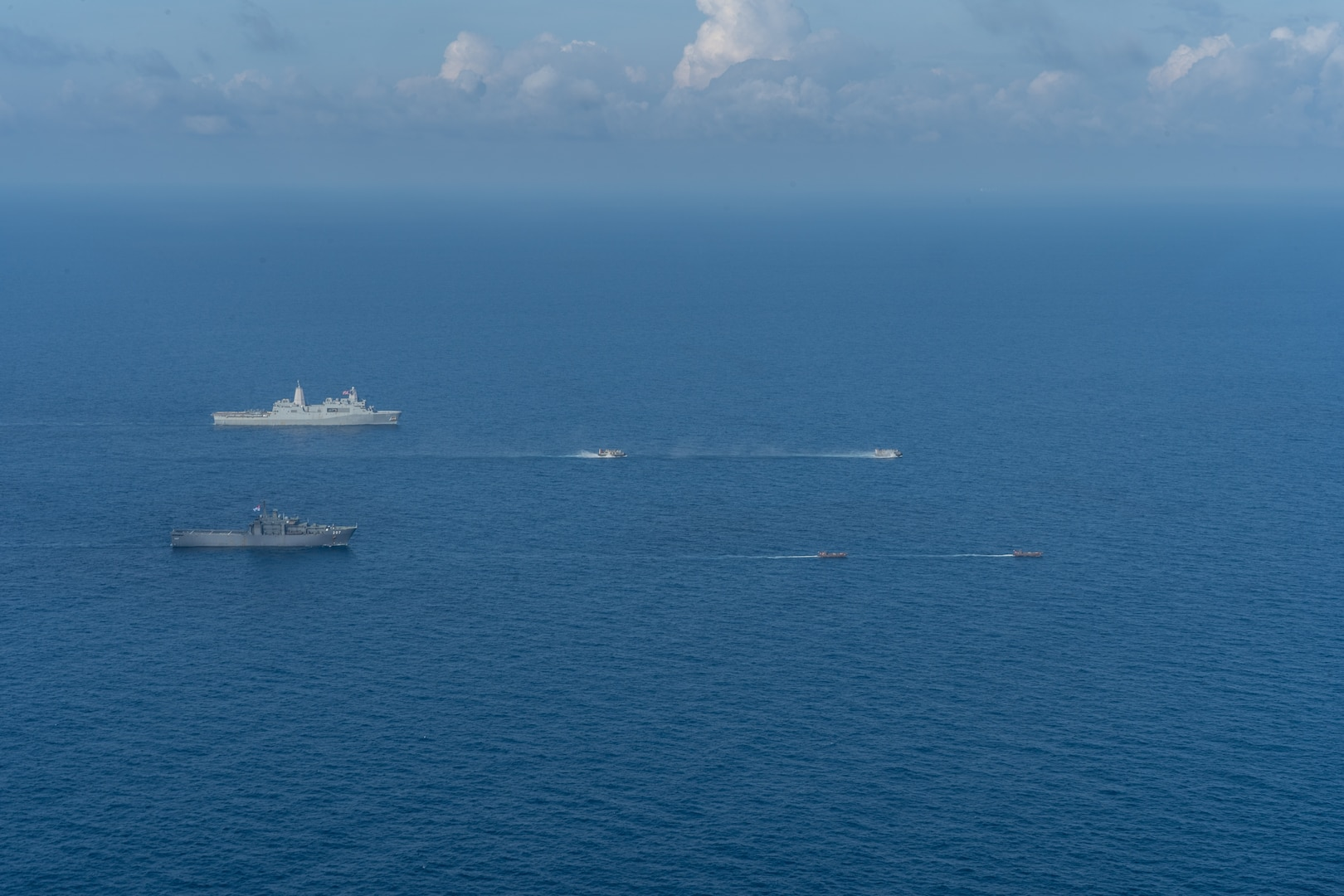 U.S., Singapore Militaries Join for Bilateral Amphibious Training during CARAT Exercise