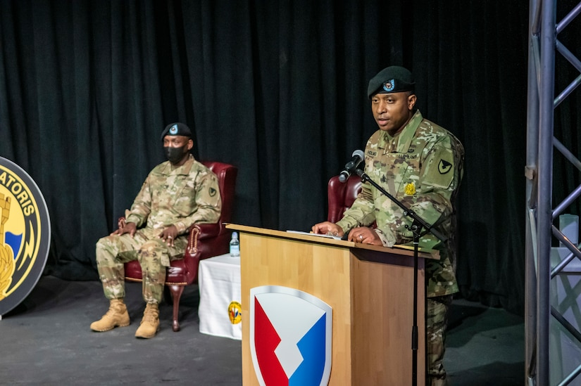 Enlisted leadership changes hands at 405th AFSB