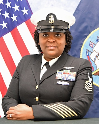 201215-N-N0443-1001 PENSACOLA, Fla. (Dec. 15, 2020) Official photo of Master Chief Aviation Ordnanceman Nikki S. Williams. (U.S. Navy photo)