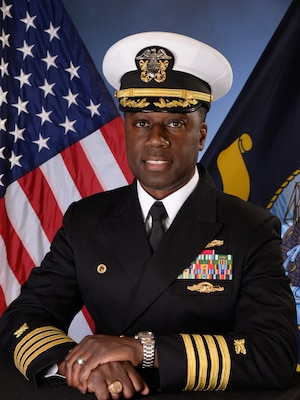 201215-N-N0443-1006 PENSACOLA, Fla. (Dec. 15, 2020) Official photo of Capt. Milton W. Troy III. (U.S. Navy photo)