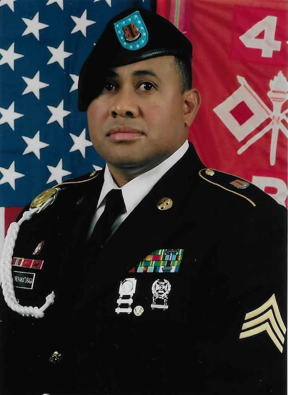Staff Sgt. Setariki Korovakaturaga (44th Expeditionary Signal Battalion, 2nd Theater Signal Brigade)