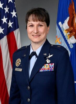 This is the official portrait of Brig. Gen. Jennifer L. Grant.