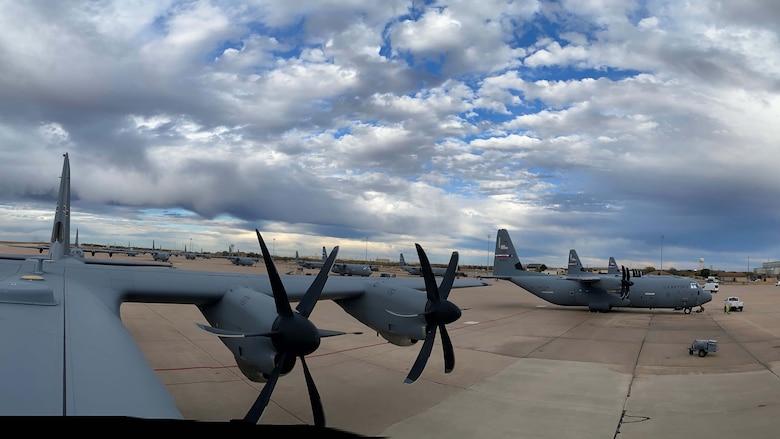planes on a flightline