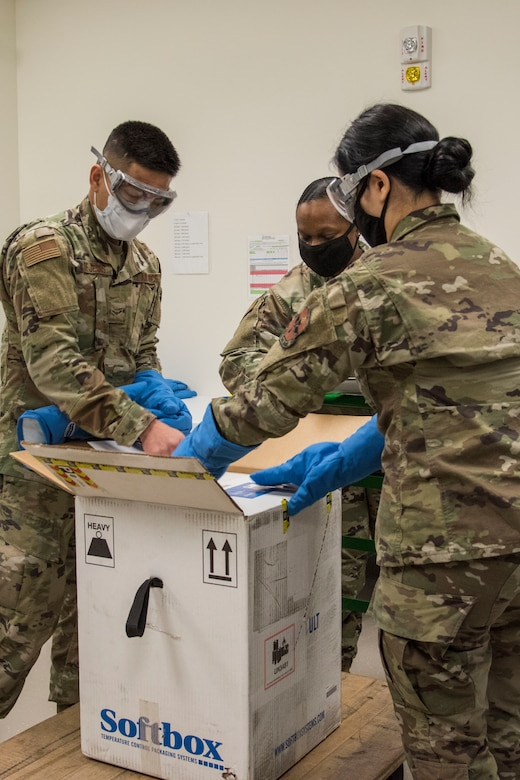 The Department of Defense aims to be able to reduce the burden of the COVID-19 disease in high-risk populations and simultaneously mitigate risk to military operations.