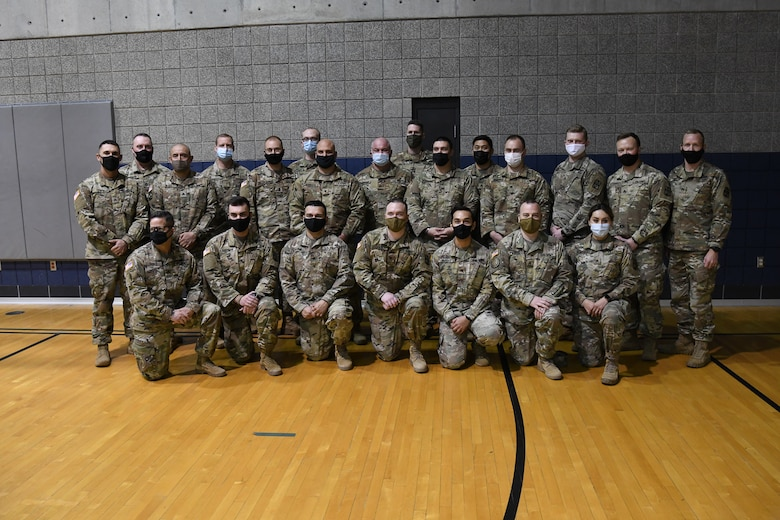 Group photo of Soldiers from the 141st Military Intelligence Battalion