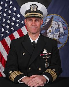 Photograph of Captain Eric C. Correll, USN