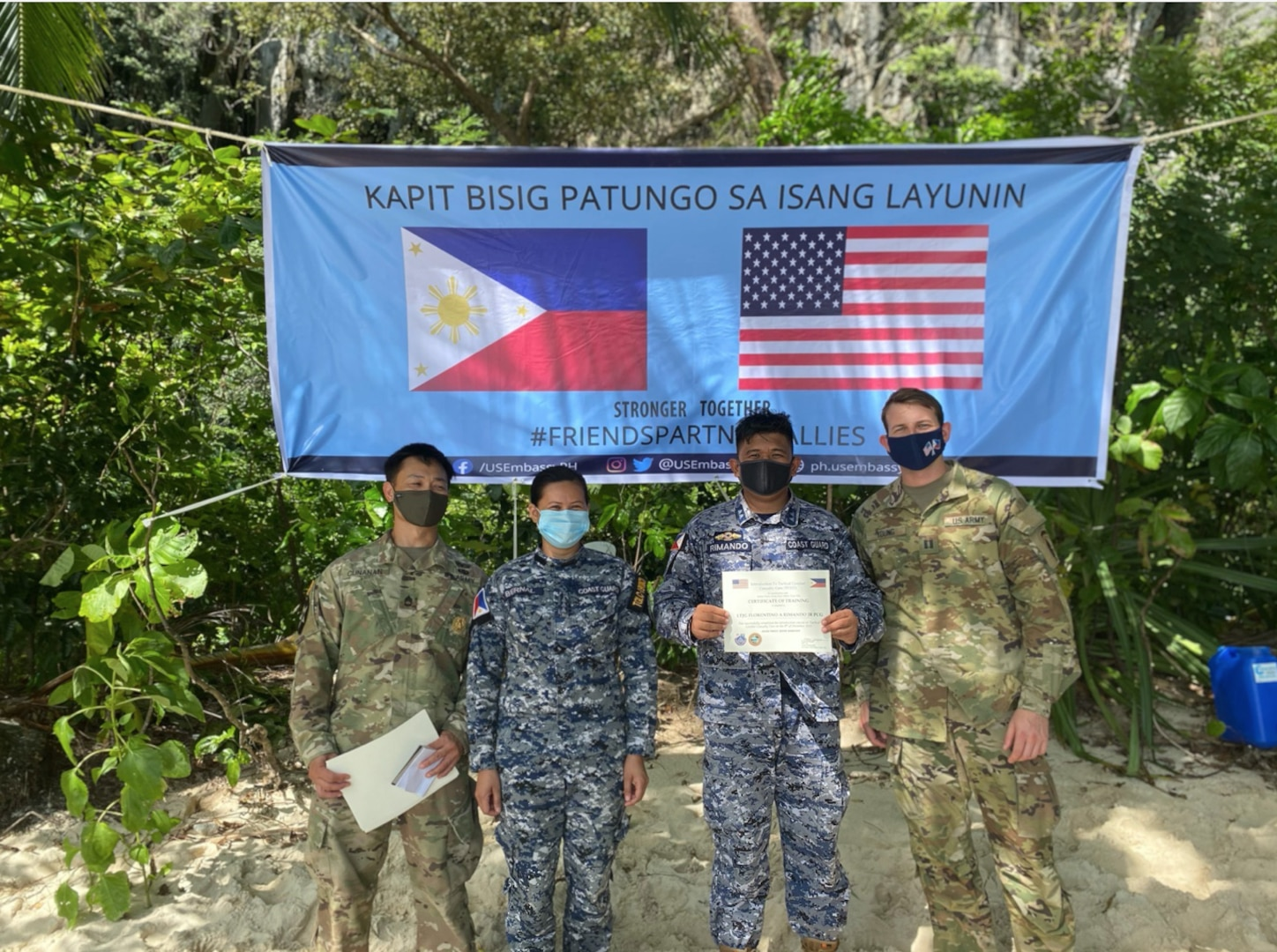 U.S. and Philippine Military Personnel Partner for First Responder Training and Medical Assistance Provision in Palawan