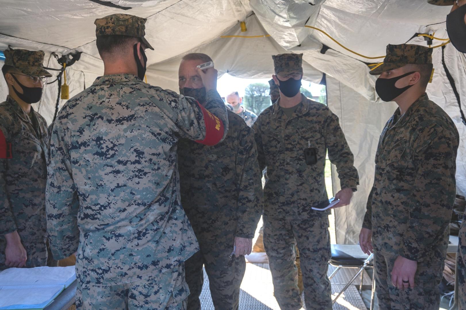 Marines from 1st MAW participate in Yama Sakura 79