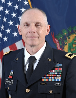 Brig. Gen. David Manfredi is the Land Component Commander and Joint Staff Director, Joint Force Headquarters, Vermont National Guard.