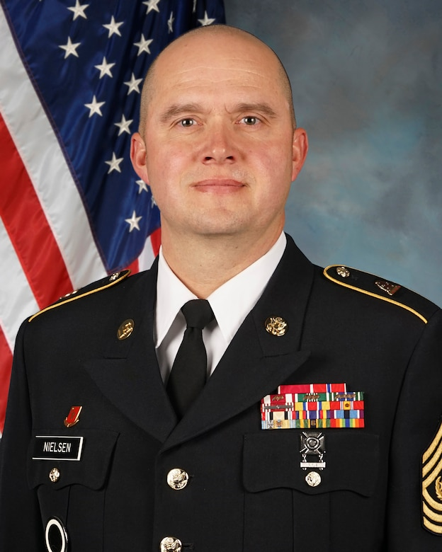 Command Sgt. Maj. Spencer Nielsen, Utah National Guard Senior Enlisted Leader