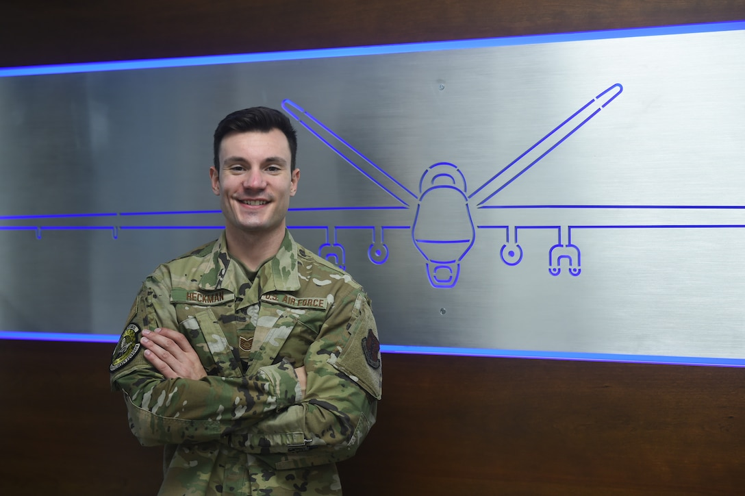 Tech. Sgt. David Heckman, 132d Intelligence Squadron, graduated Iowa State University debt free. Heckman's tuition was 100% covered by the Air National Guard. (U.S. Air National Guard photo by SrA Katelyn Sprott)
