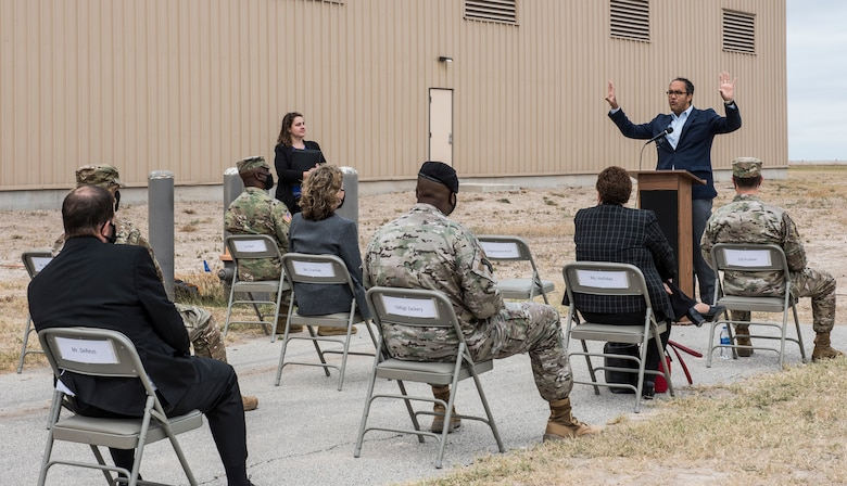 Rep. Will Hurd (R-Texas) visits Laughlin Air Force Base, Texas