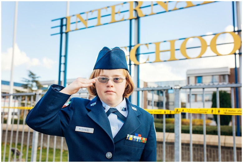 Photo of JROTC cadet