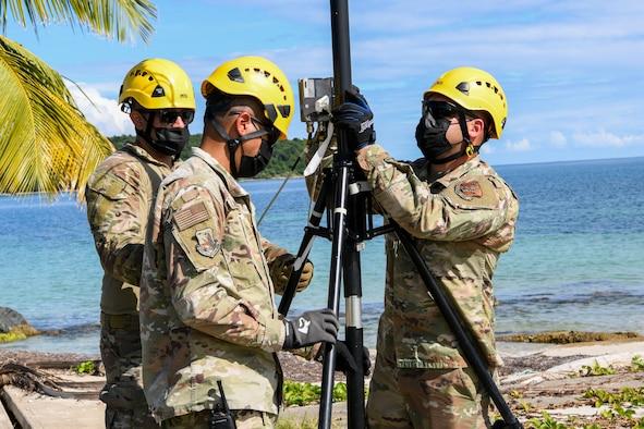156th Communications Flight JISCC training in Ceiba