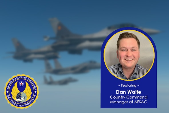 AFSAC Command Country Manager Dan Waite