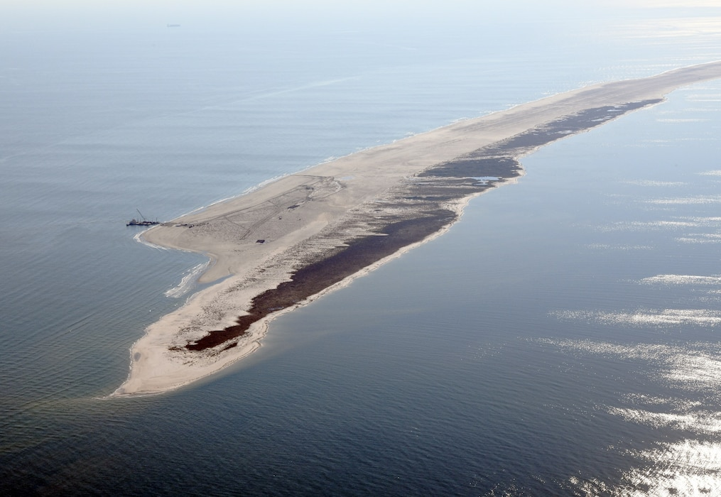 Mobile District Completes Ship Island Restoration
