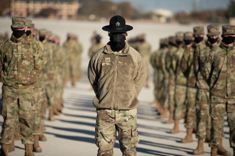 Basic Military Training Graduation Dec. 10, 2020