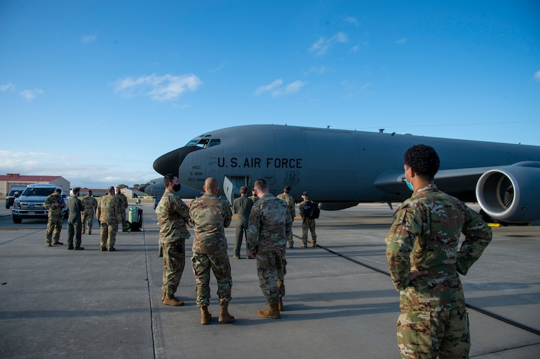 50th EARS 'Red Devils' return from Southwest Asia deployment
