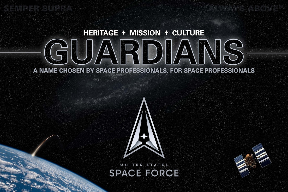 Space Force professionals are officially named Guardians.