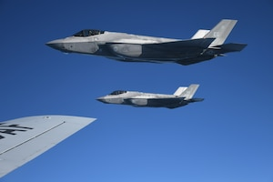 F-35A Lightning II Aerial Refueling