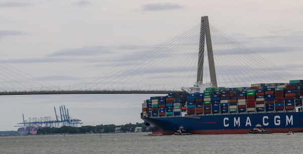 CMA Brazil Calls on Port of Charleston