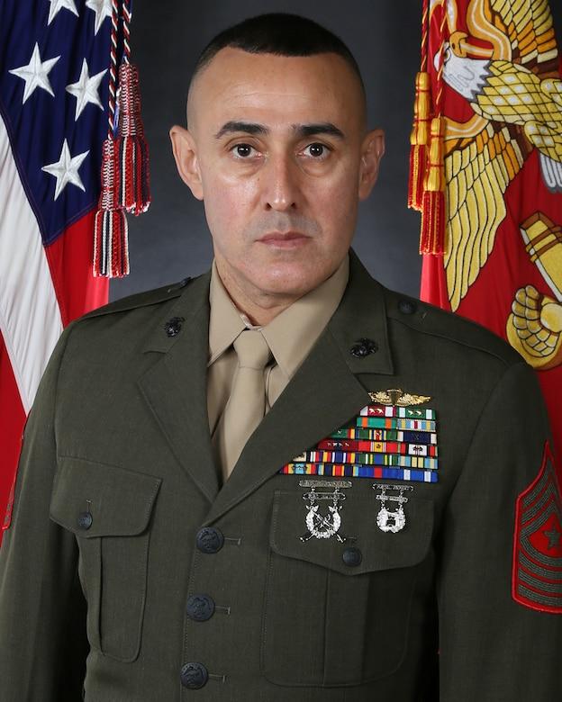 Sergeant Major Robert M. Tellez, Marine Corps Installations East-Marine Corps Base Camp Lejeune sergeant major