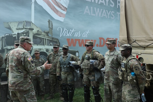 The D.C. National Guard was called upon to support the district's first responders in May 2020 as protests spread across the nation following the death of George Floyd. Thousands of guardsmen from other states assisted in D.C. National Guard efforts, which concluded in June. The mission was the biggest activation of soldiers and airmen in over 40 years. (Photo credit: D.C. National Guard)