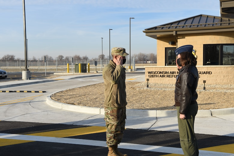 The new main gate significantly improves base defense and traffic flow. Construction of the project began in August 2019 and cost approximately $4.4 million to complete. National Guard Bureau funded the entirety of the project.