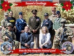 Season's Greetings from the New Hampshire National Guard.