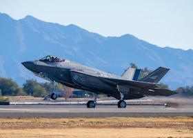 Luke F-35s, F-16s train daily
