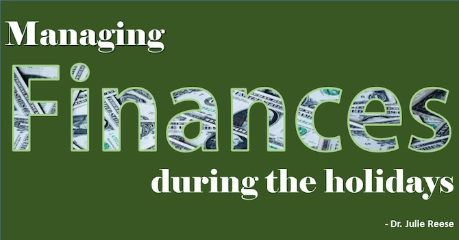 Managing finances during the holidays