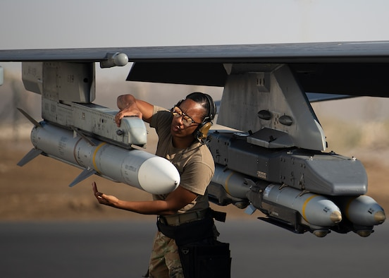 Deployed aircraft maintainers enable 'dynamic force employment'