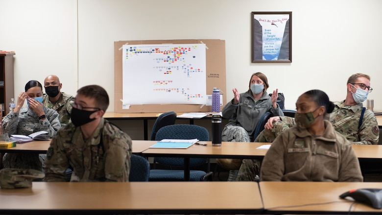 MSgt Carrie Fierro participates in AoP event