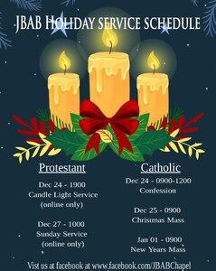 BAB Chapel serves community during holidays, year-round
