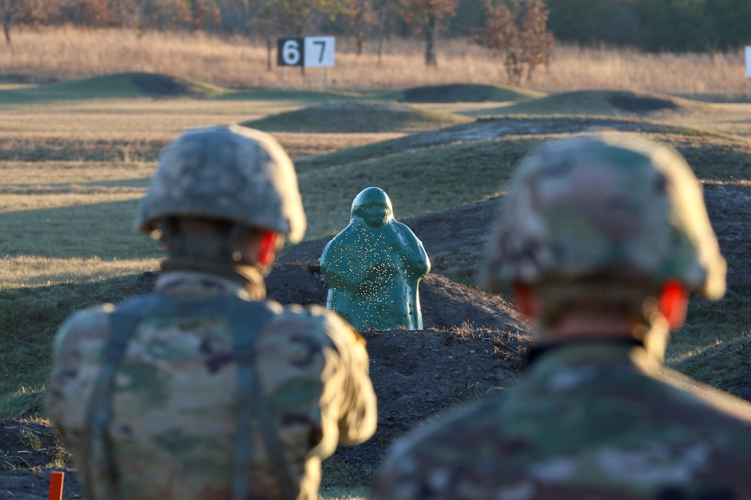 469th Engineer Company Soldiers hone shooting skills at Fort McCoy